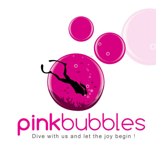 logo for Pink bubbles