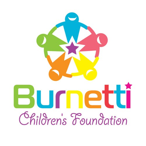 Create the next logo for Burnetti Children's Foundation