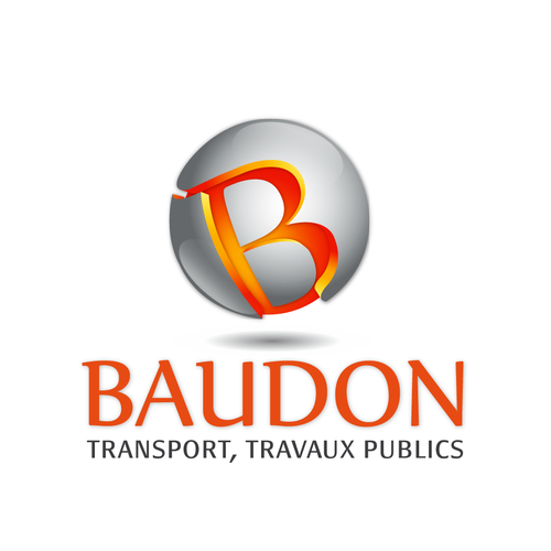 """logo """"BAUDON"""" company"""