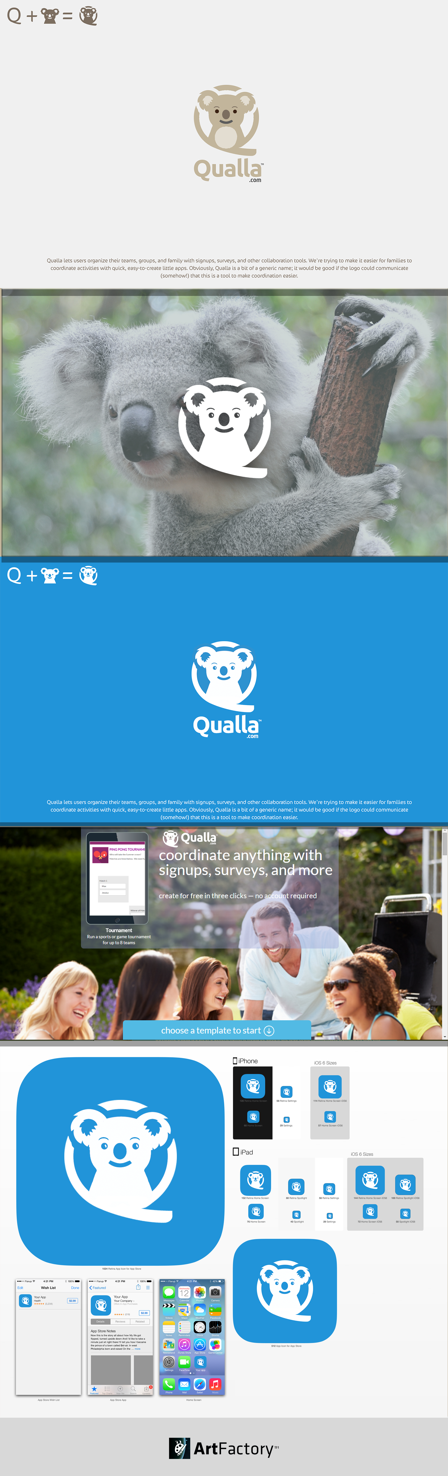 Create a great logo for Qualla -- collaboration tools for parents and more