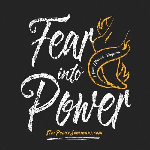 T-Shirt for a powerful breakthrough seminar