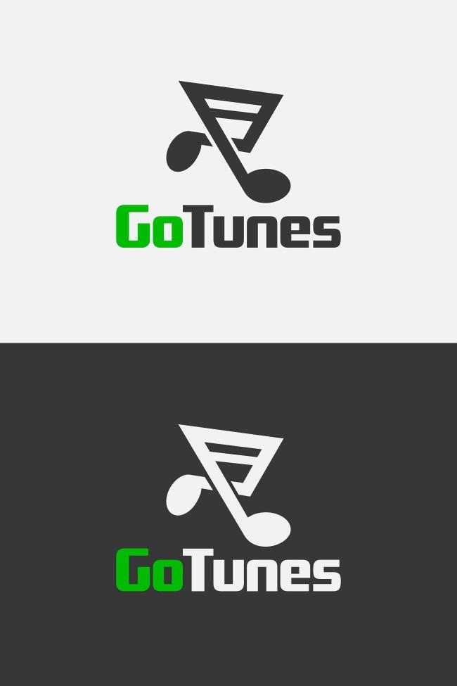 Create the next logo for GoTunes