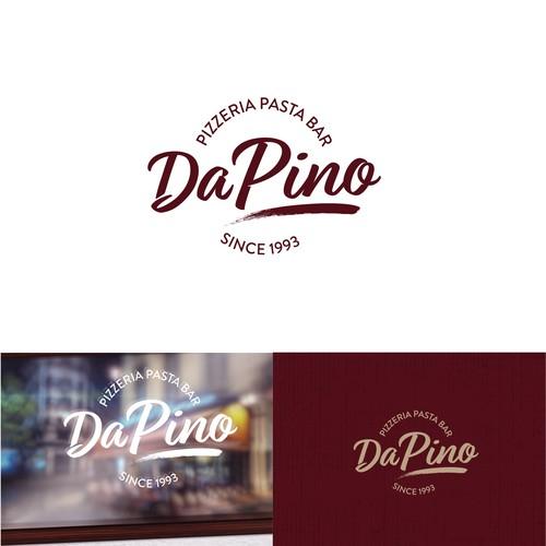 Da Pino Restaurant Logo redesign