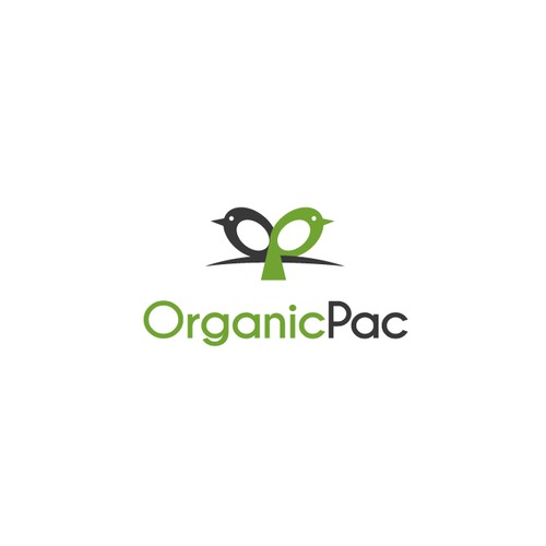 Create a logo for an organic packaging company