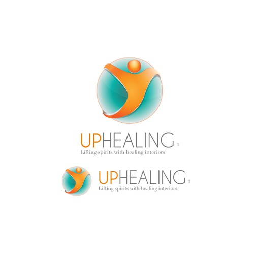 Create a logo for a company that is dedicated to lifting spirits with healing interiors!