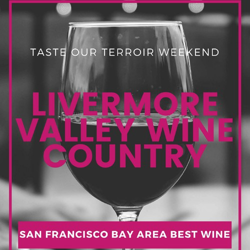 Livermore Valley Wine Country 2nd Poster Design