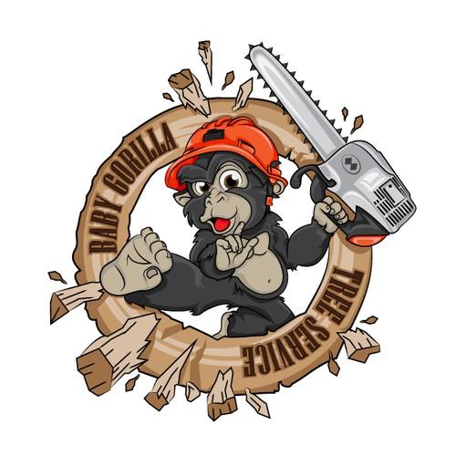 Baby Gorilla Tree Service needs a new logo