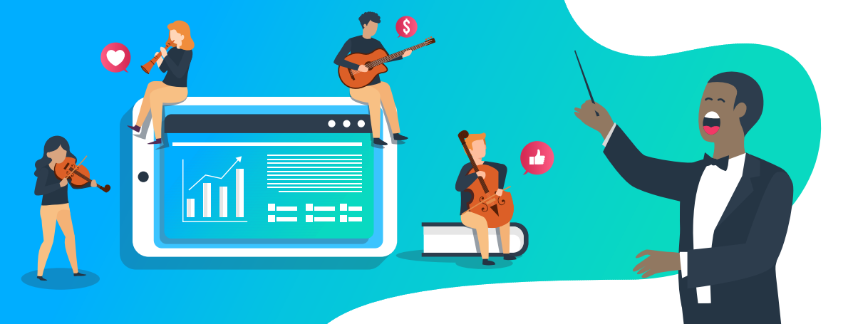 Belt Out Loud Marketing - Illustration Images and Icons for Website