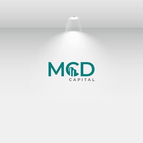 Real estate & mortgage logo design for MCD Capital