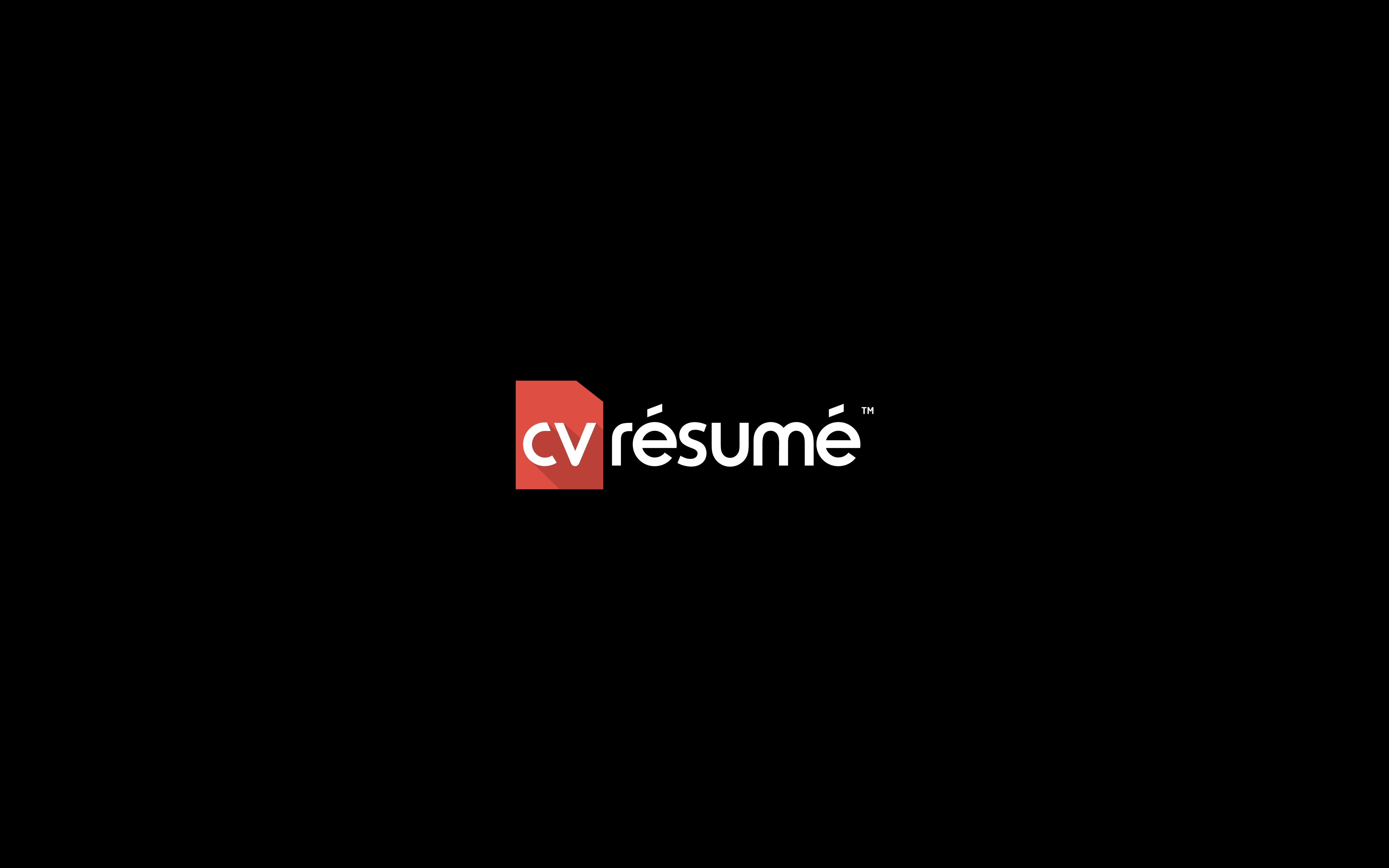 Create a brand identity for CV Résumé
