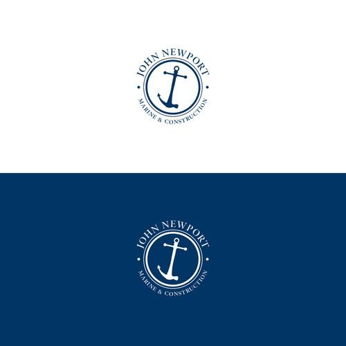 Marine and construction Logo