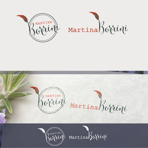 create an author-logo for a woman, writing historical/mythological novels