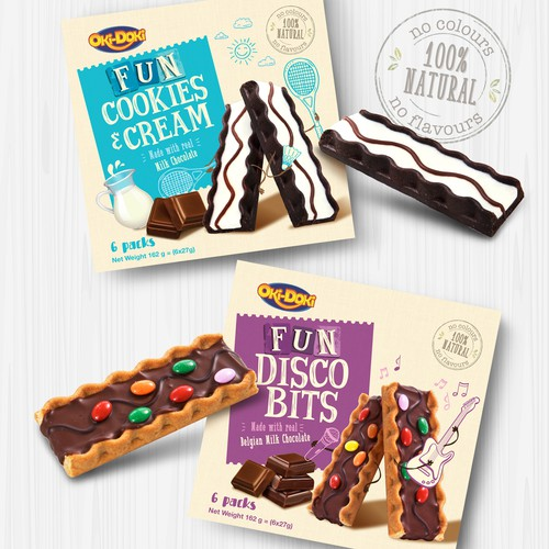 FUN Cookies Bars for kids