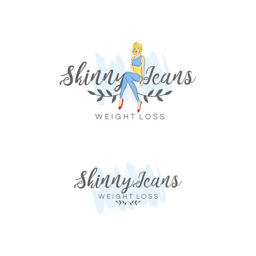 Logo design for weight loss