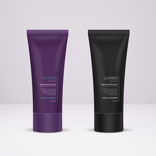 LuxMD Skincare Line