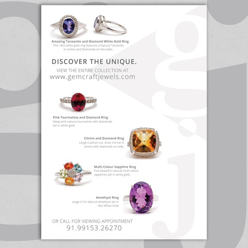 Luxurious Flyer for Jewelry