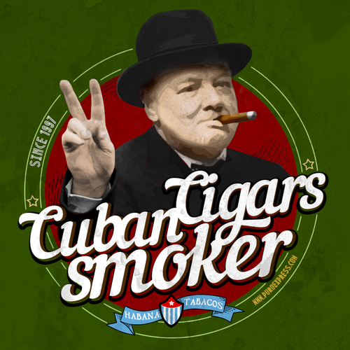 Cuban Cigars T-Shirt design 2