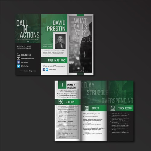 Trifold Brochure for The Next Callings