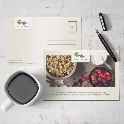 Postcard for Maven Meals