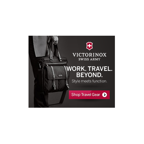Victorinox Swiss Army Banner Ad