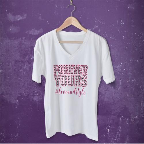 T-shirt for 'Daniela Katzenberger' - WINNER