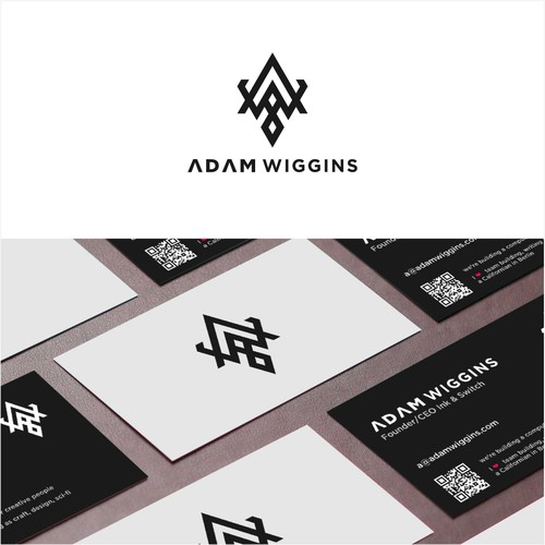 Logo and Business Card for Adam Wiggins