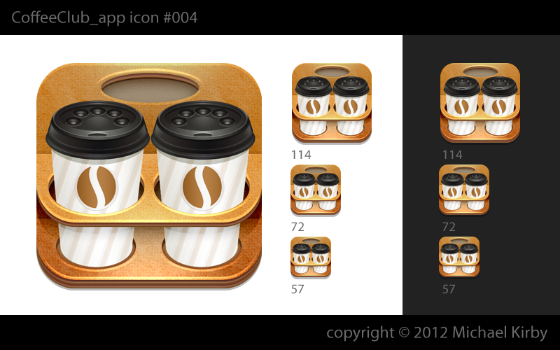 New iPhone App icon wanted for Coffee Club