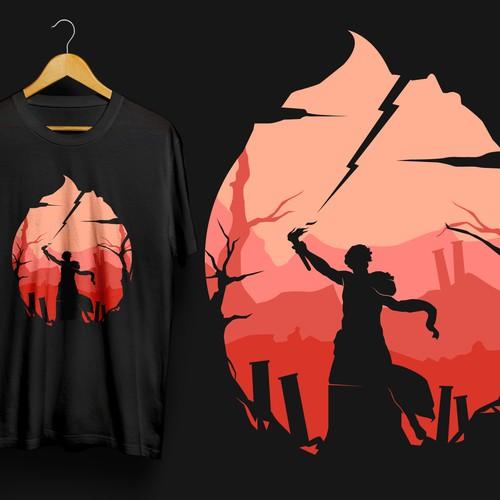 T-shirt design for Prometheus IT