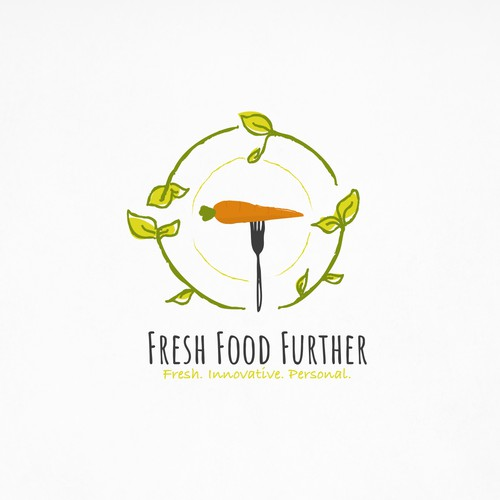 Fresh logo for healthy company