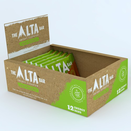 Design a point of sale box for The Alta Bar