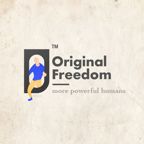 Original Freedom Logo Design Concept 3