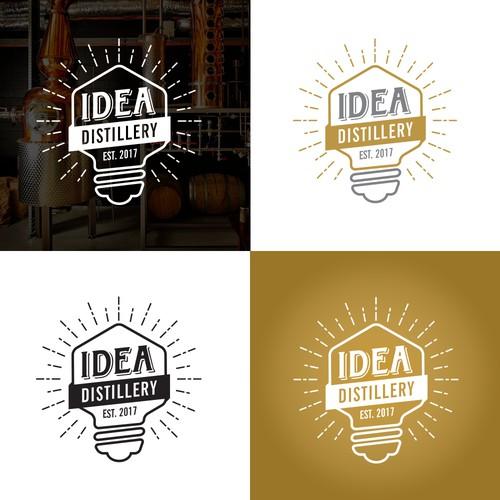 Design an innovative logo for Idea Distillery