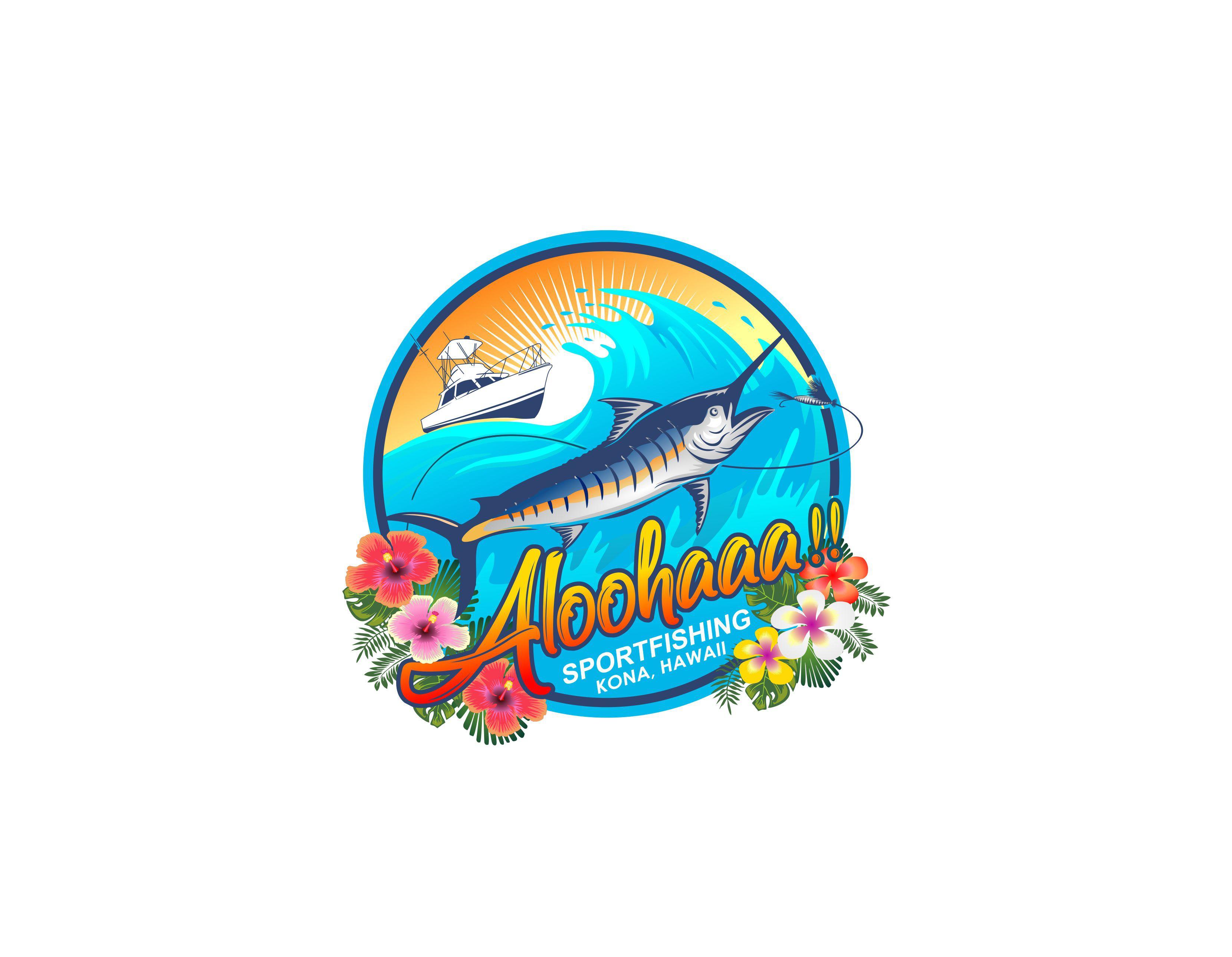 Design a little aloha for Aloohaaa!! Sportfishing
