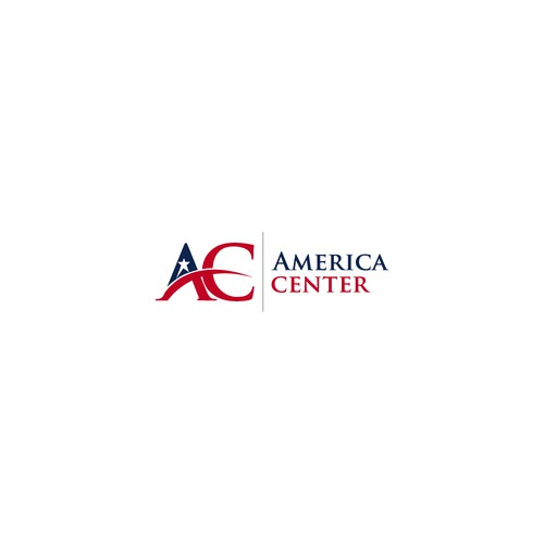 Logo design for America Center