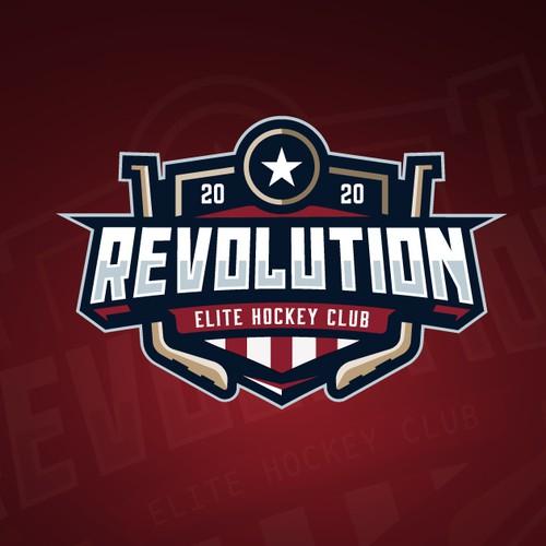 logo hockey for revolution