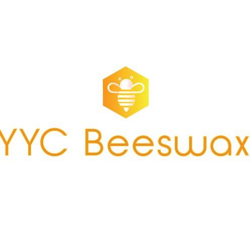 Create a classy logo for YYC Wax