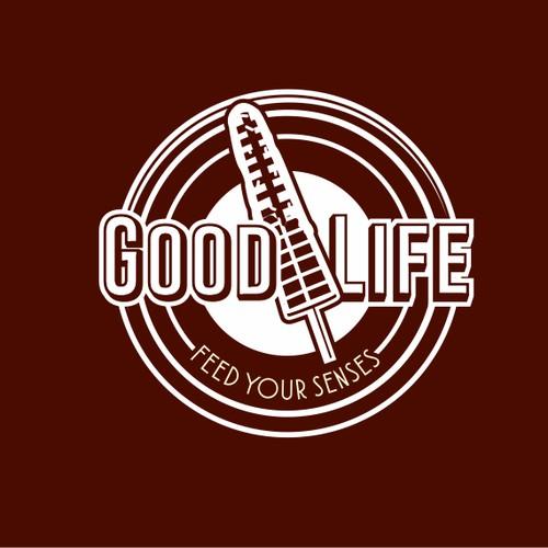 Youthful logo for waffle shop