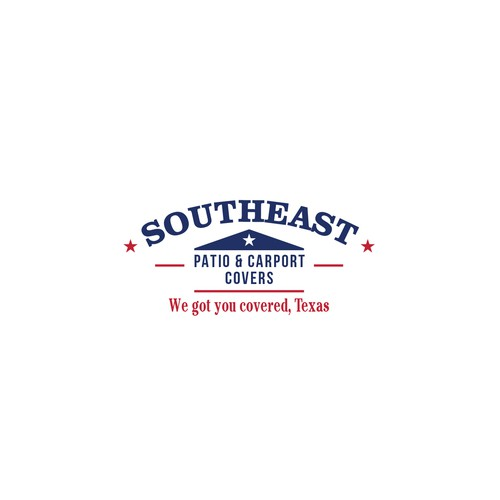 Logo design for Southeast Patio & Carport Covers.