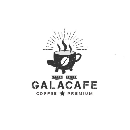 Rustic Design for GALACAFE Coffee