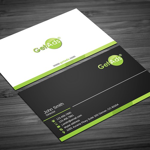 GetAds Business Card