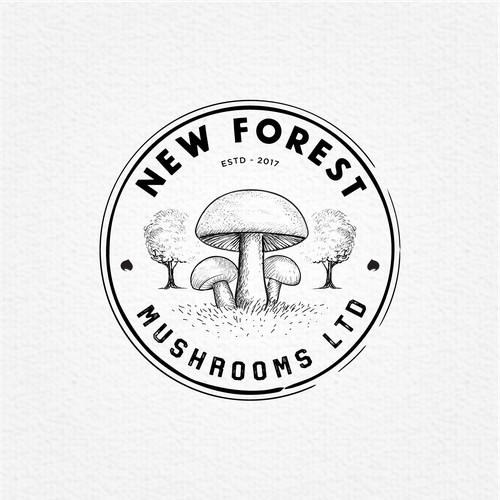chesnut and mushroom farm logo