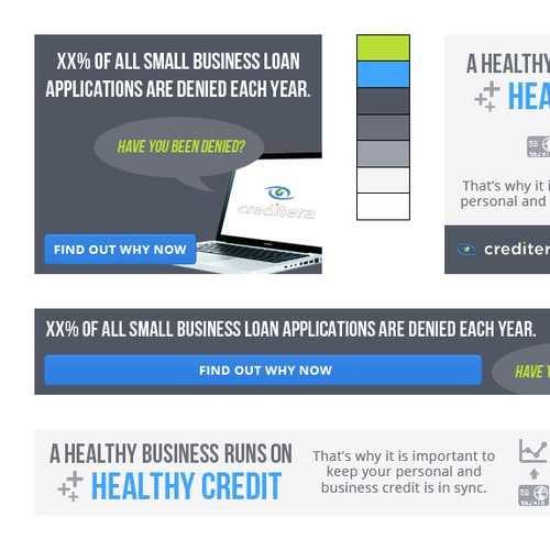 Creditera needs a new banner ad