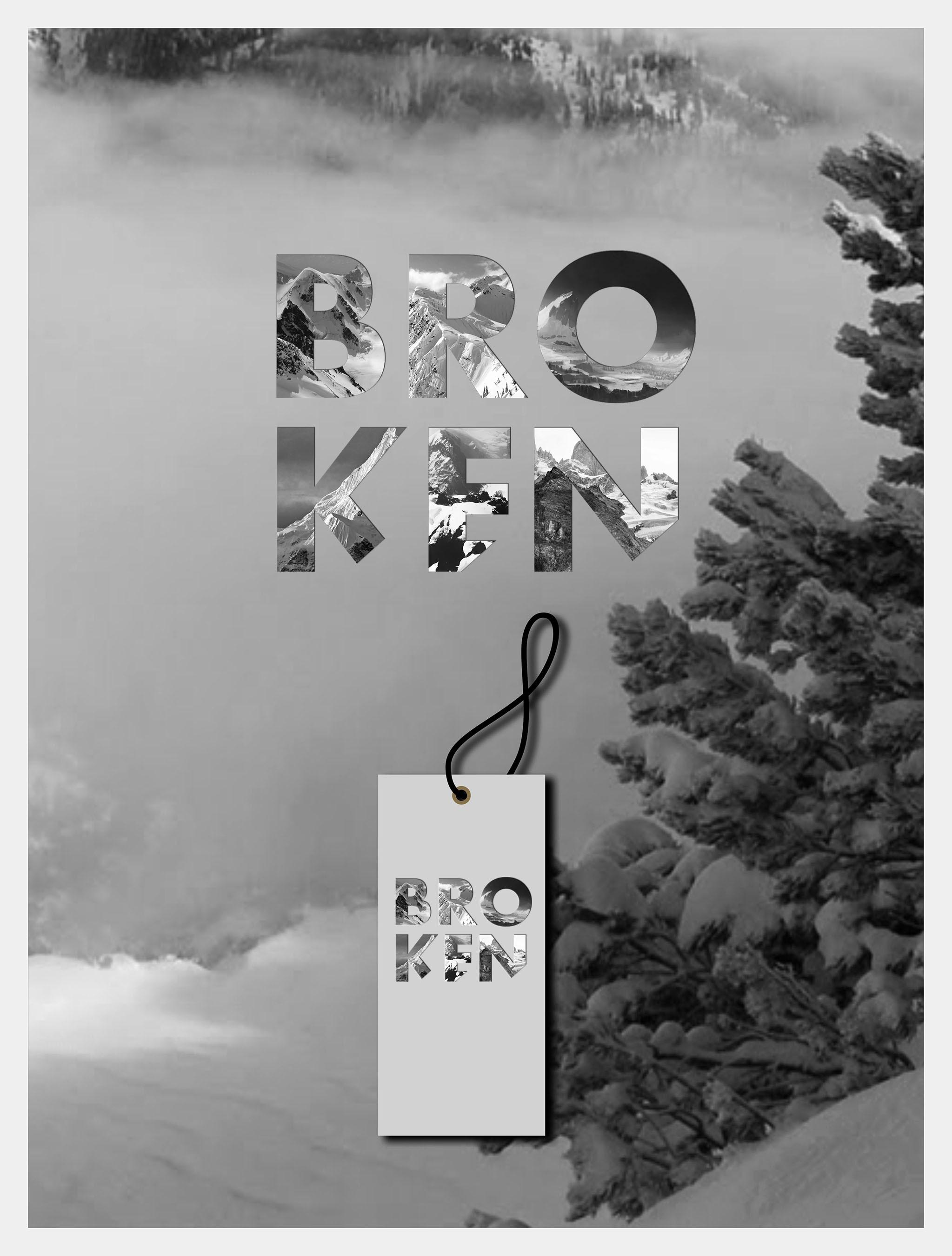 Create an eye-catching, memorable logo for Broken, LLC.