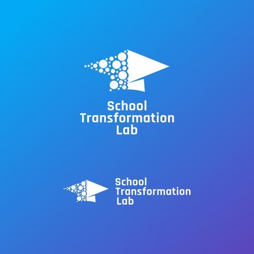 School Transformation Lab Logo Design