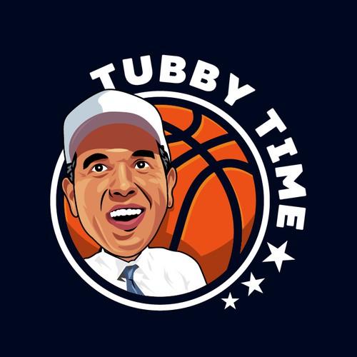 Basketball Hall of Famer Coach Logo
