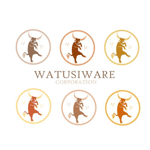 Whimsical corporate logo for iPhone/iPad app developer
