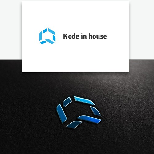 Clever logo needed for Kode in House (Software company) ✔