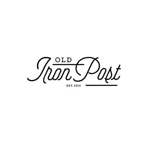 logo for iron post