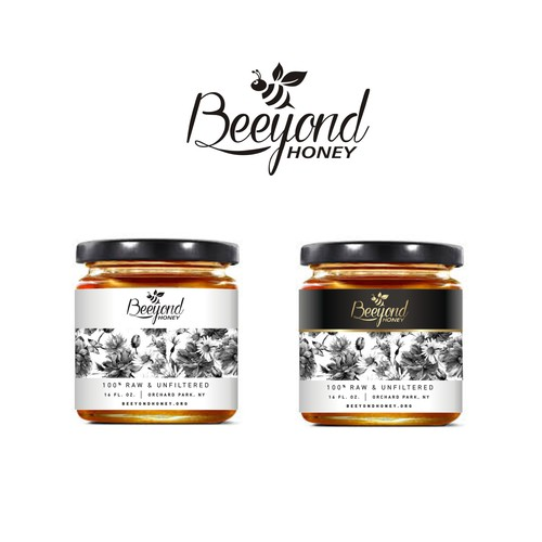 Beeyond honey label