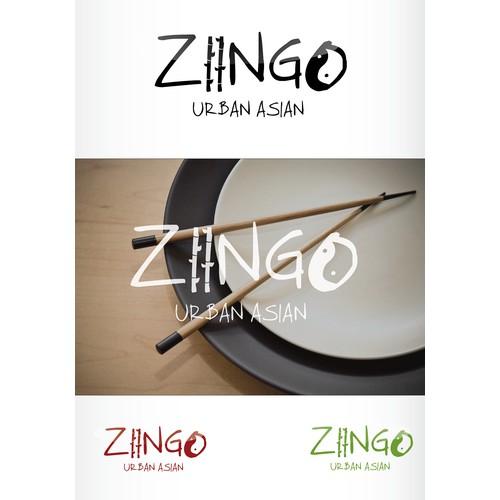 New urban Asian restaurant wants a kick ass fun logo